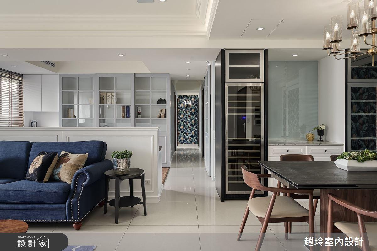 50坪新成屋(5年以下)_美式風客廳案例圖片_趙玲室內設計有限公司_趙玲_56之4