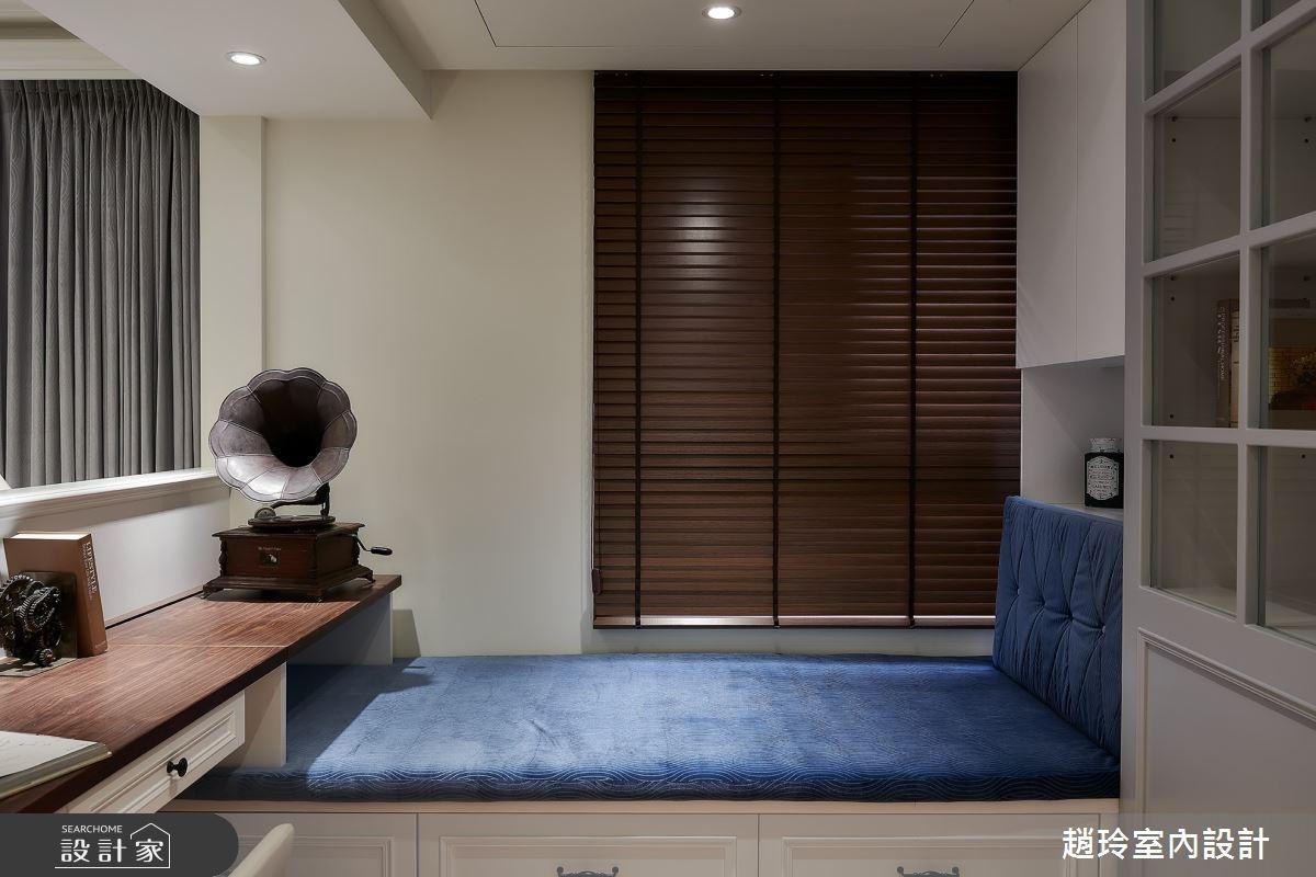 50坪新成屋(5年以下)_美式風書房臥榻案例圖片_趙玲室內設計有限公司_趙玲_56之7
