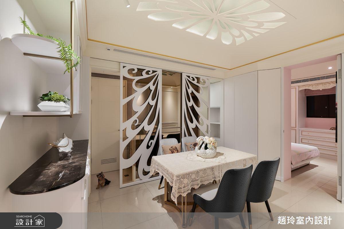 26坪新成屋(5年以下)_新古典餐廳案例圖片_趙玲室內設計有限公司_趙玲_59之6