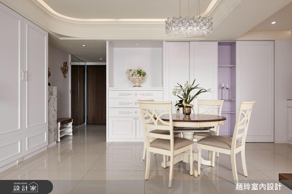 60坪新成屋(5年以下)_新古典餐廳案例圖片_趙玲室內設計有限公司_趙玲_61之5
