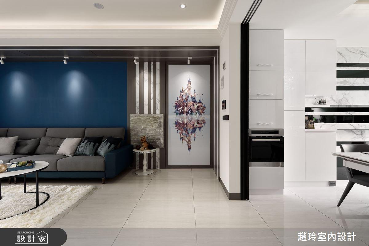 70坪新成屋(5年以下)_現代風案例圖片_趙玲室內設計有限公司_趙玲_63之2