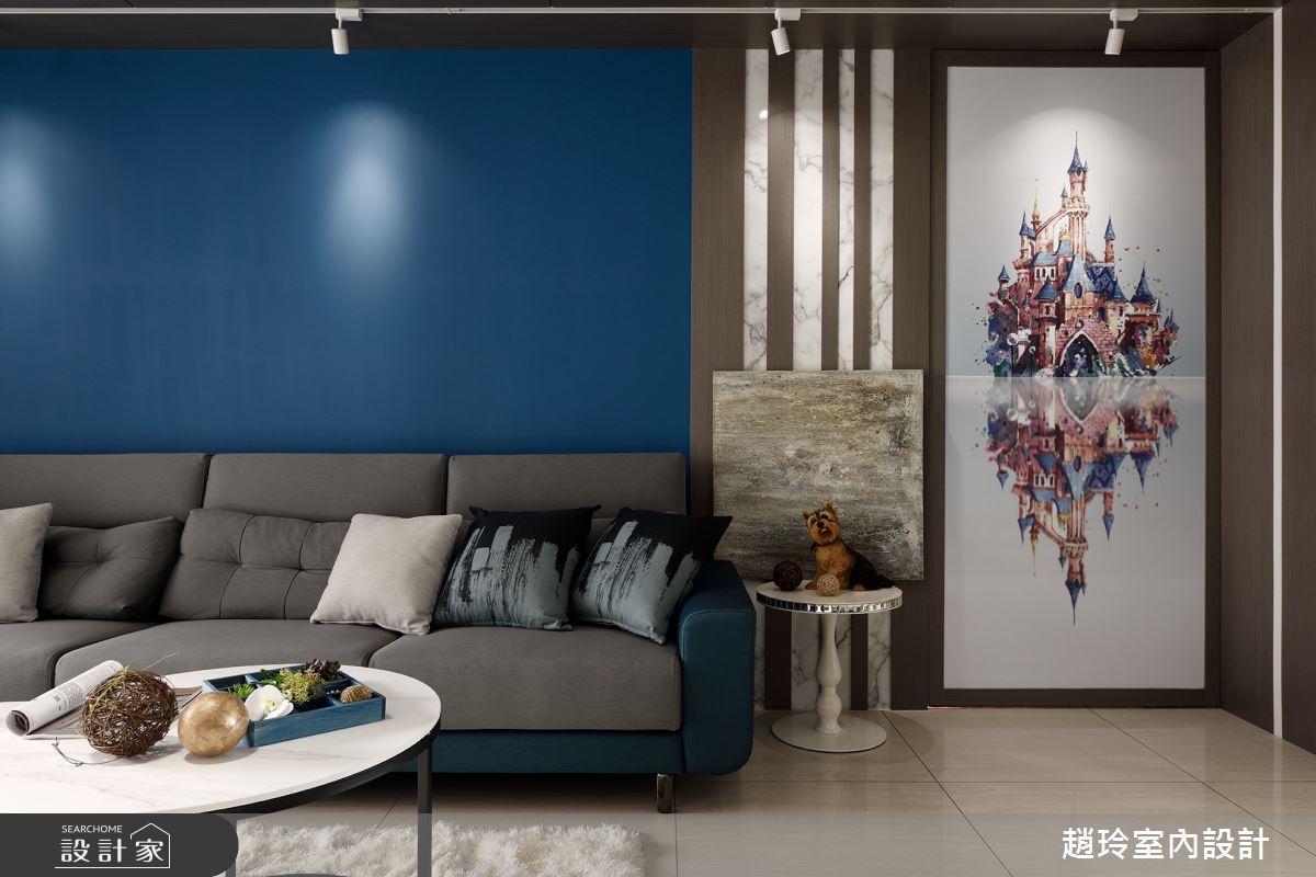 70坪新成屋(5年以下)_現代風案例圖片_趙玲室內設計有限公司_趙玲_63之3