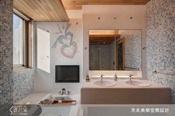 63坪新成屋(5年以下)_鄉村風浴室案例圖片_天禾美學室內裝修設計有限公司_天禾美學_02之15