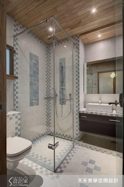63坪新成屋(5年以下)_鄉村風浴室案例圖片_天禾美學室內裝修設計有限公司_天禾美學_02之11