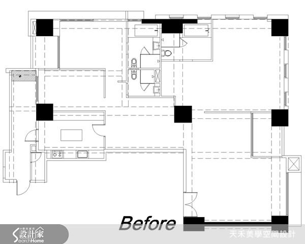 63坪新成屋(5年以下)_鄉村風案例圖片_天禾美學室內裝修設計有限公司_天禾美學_02之17