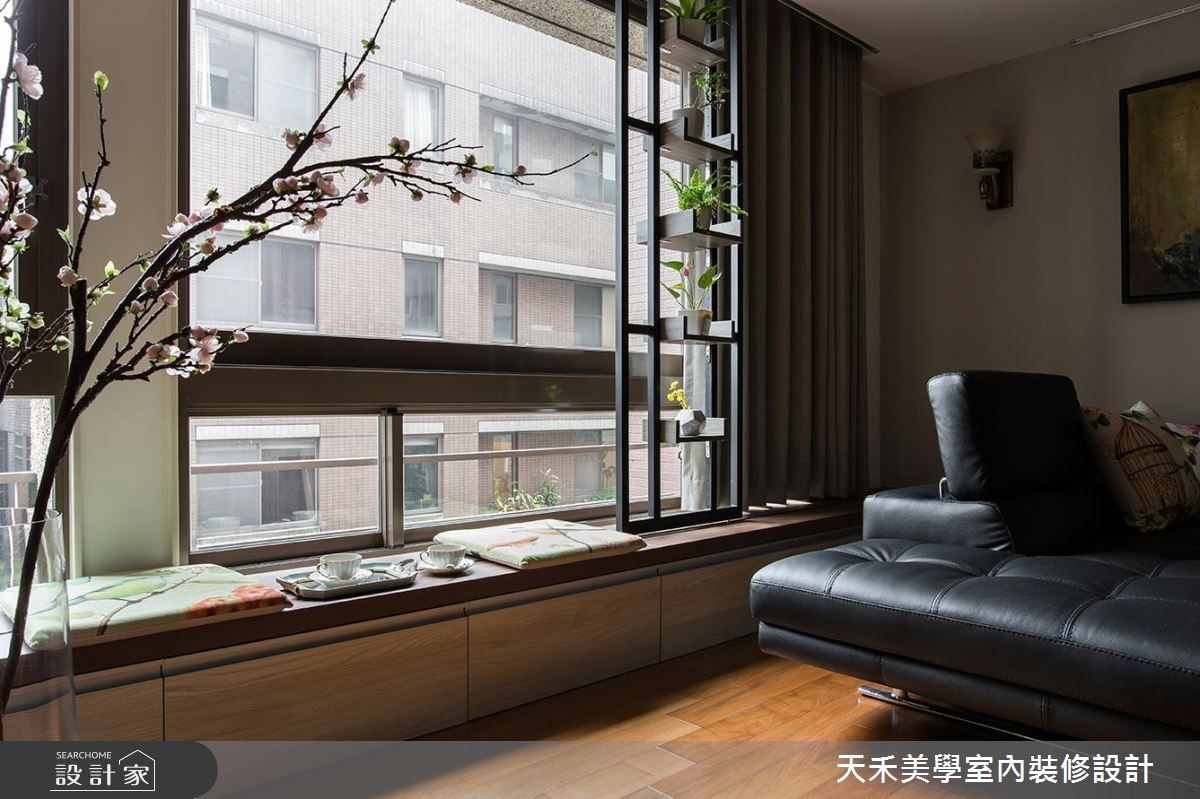 35坪老屋(16~30年)_新中式風案例圖片_天禾美學室內裝修設計有限公司_天禾美學_12之5