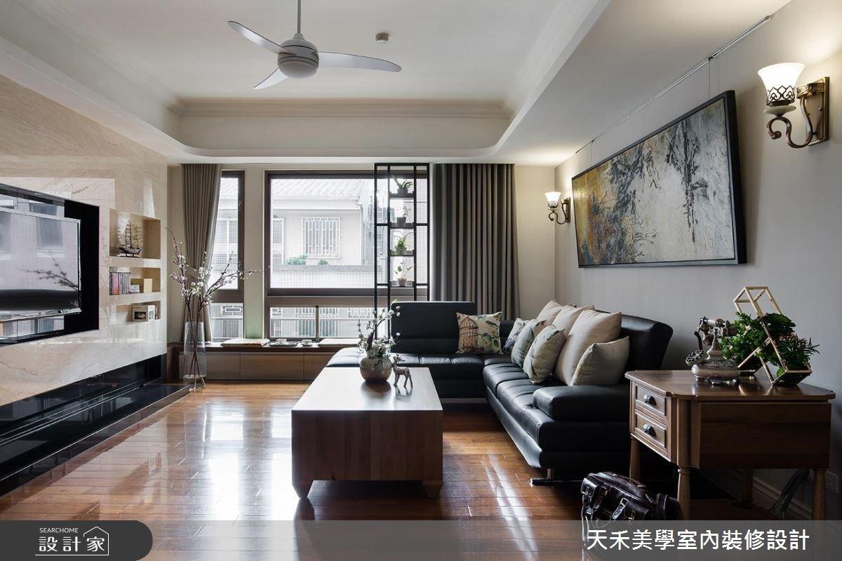 35坪老屋(16~30年)_新中式風案例圖片_天禾美學室內裝修設計有限公司_天禾美學_12之7