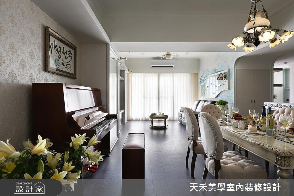34坪預售屋_鄉村風案例圖片_天禾美學室內裝修設計有限公司_天禾美學_13之1