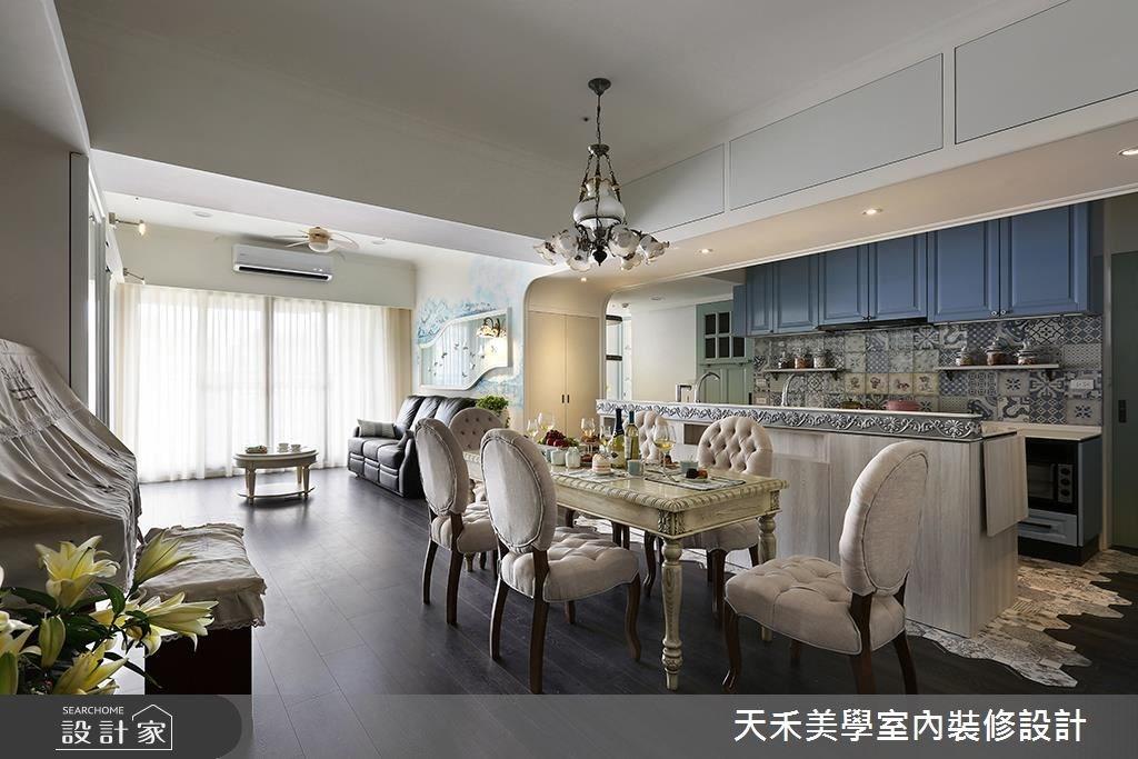 34坪預售屋_鄉村風案例圖片_天禾美學室內裝修設計有限公司_天禾美學_13之2