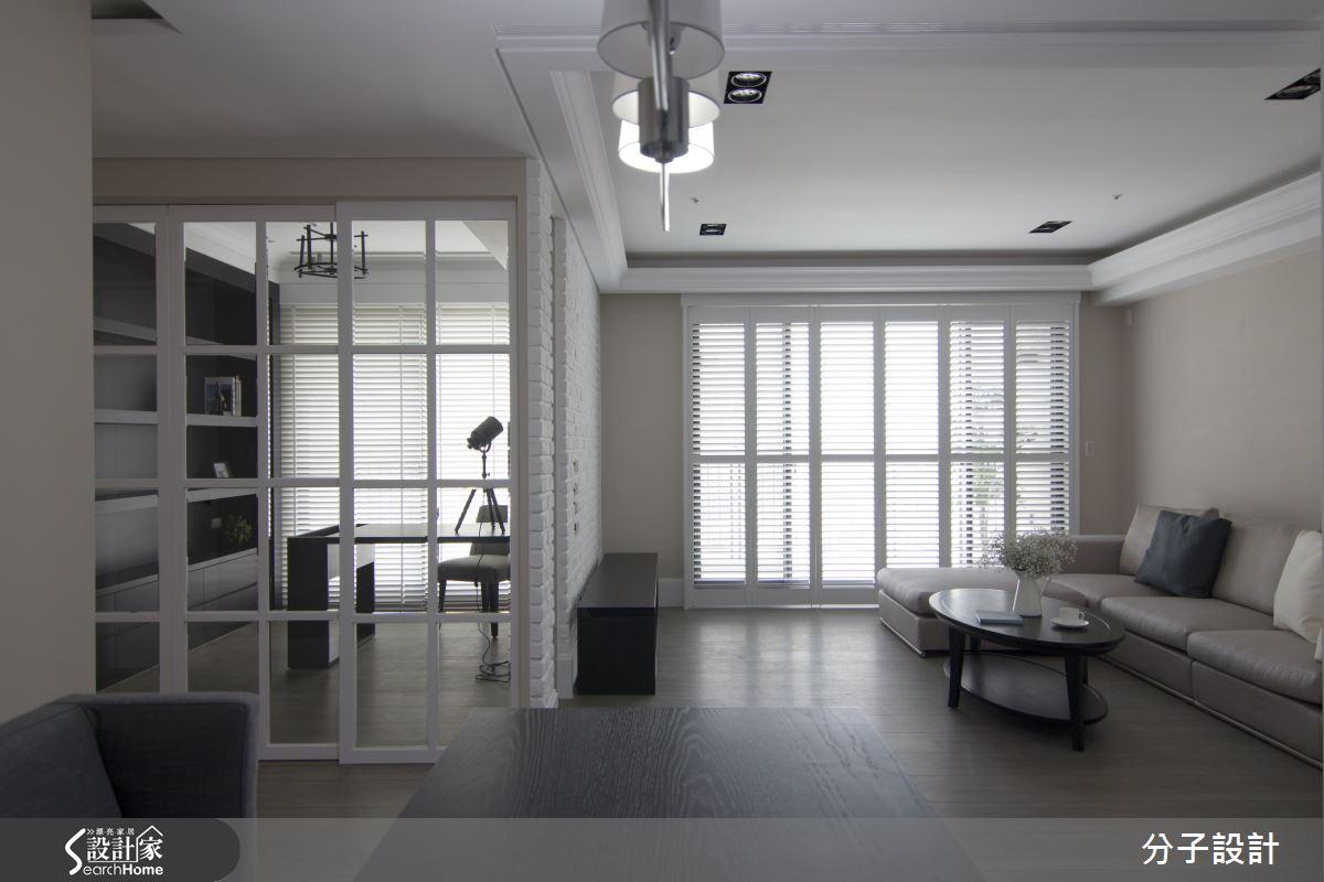 沉靜黑優雅白,打造歷久彌新的時尚北歐風美宅!
