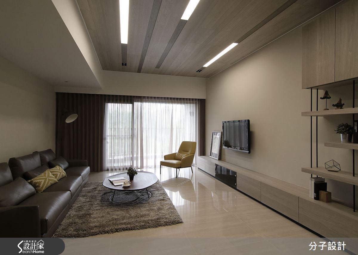 40坪新成屋(5年以下)_現代風客廳案例圖片_分子設計_分子_14之2