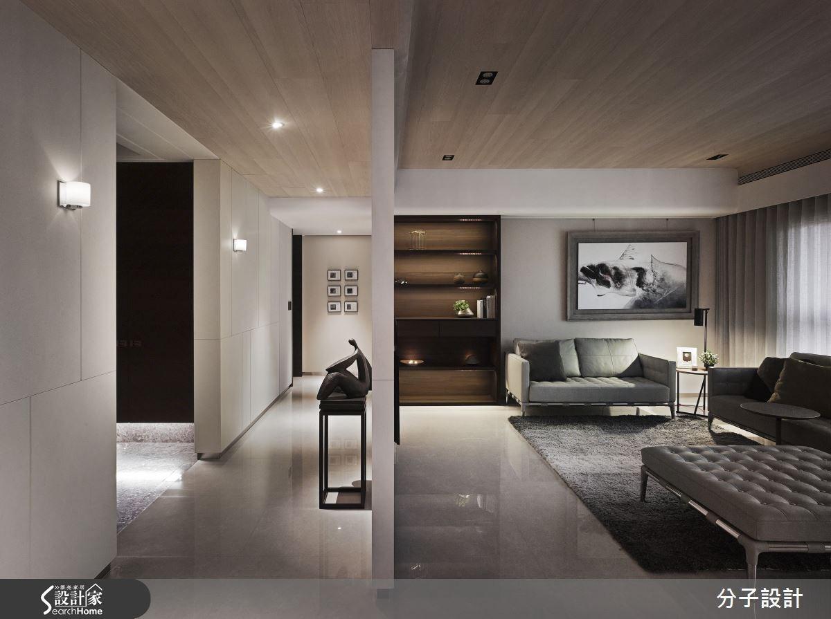 50坪新成屋(5年以下)_現代風客廳案例圖片_分子設計_分子_17之1