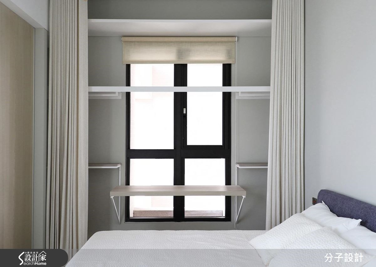 40坪新成屋(5年以下)_現代風臥室更衣間案例圖片_分子設計_分子_19之11