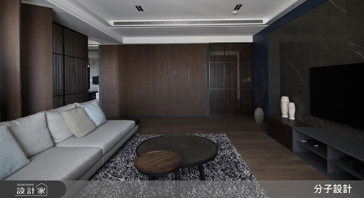 60坪新成屋(5年以下)_人文禪風客廳案例圖片_分子設計_分子_24之1
