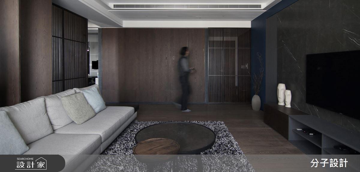 60坪新成屋(5年以下)_人文禪風客廳案例圖片_分子設計_分子_24之2