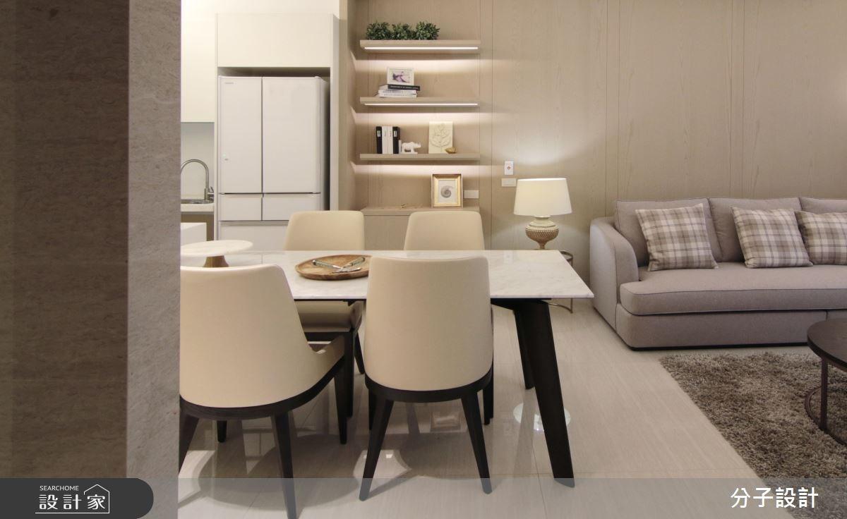 60坪新成屋(5年以下)_現代風客廳餐廳廚房案例圖片_分子設計_分子_26之5
