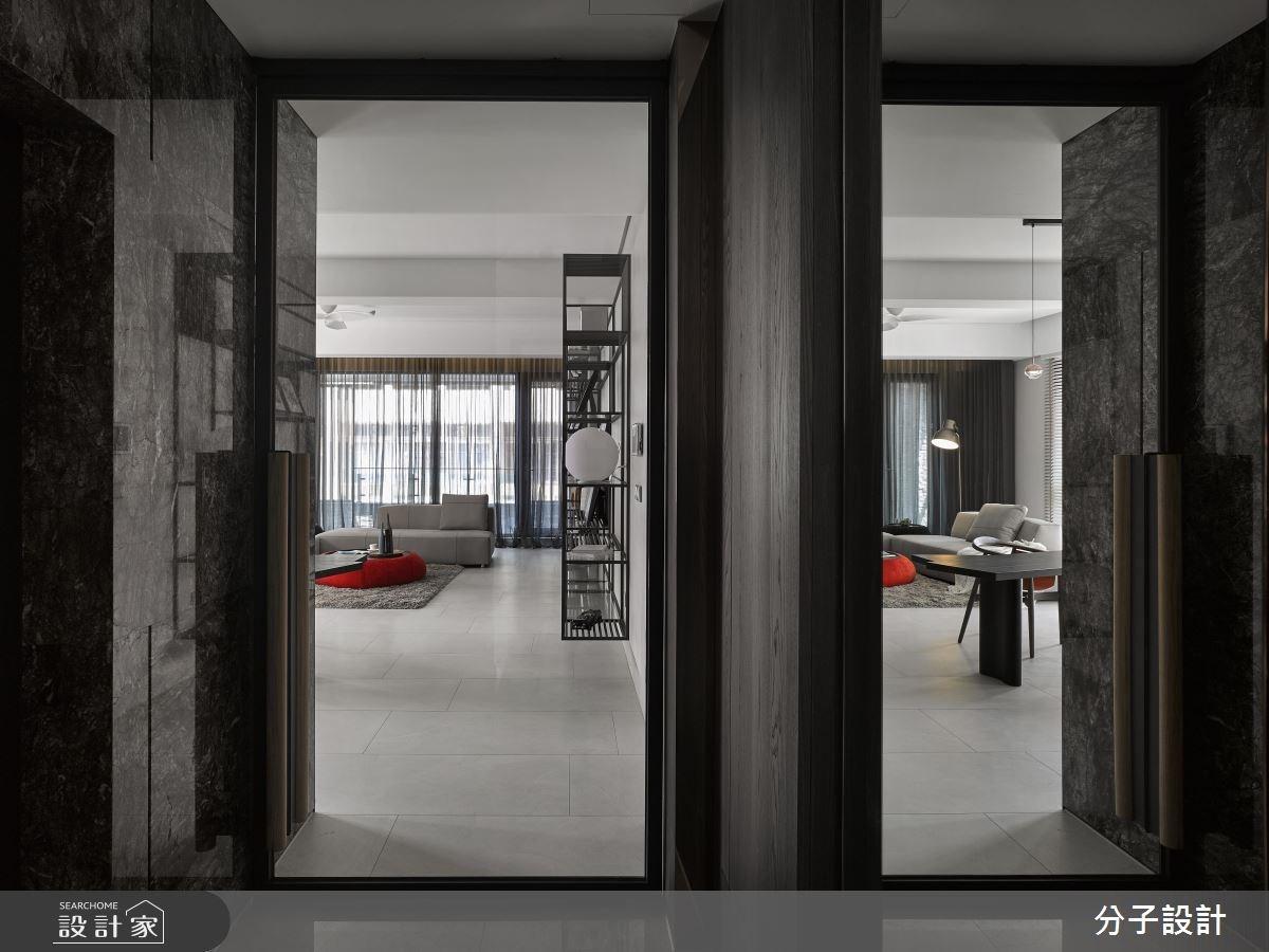 50坪新成屋(5年以下)_現代風玄關客廳案例圖片_分子設計_分子_27之1