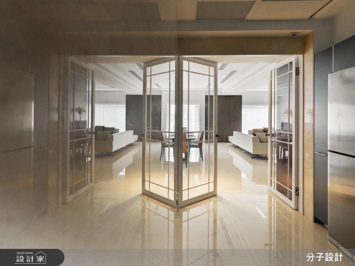 80坪中古屋(5~15年)_現代風玄關客廳餐廳案例圖片_分子設計_分子_30之1