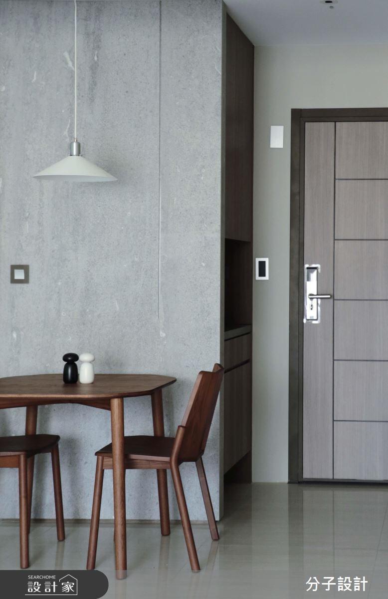 30坪新成屋(5年以下)_簡約風玄關餐廳案例圖片_分子設計_分子_31之4