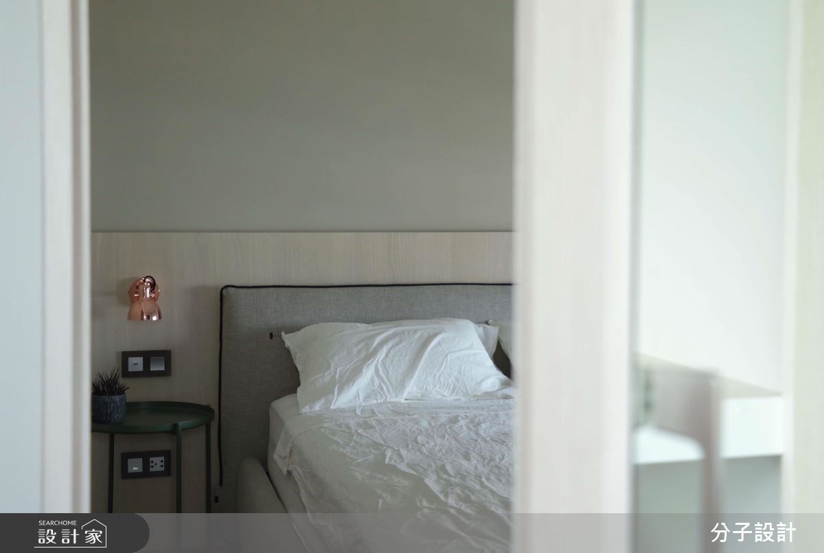 30坪新成屋(5年以下)_簡約風臥室案例圖片_分子設計_分子_31之9