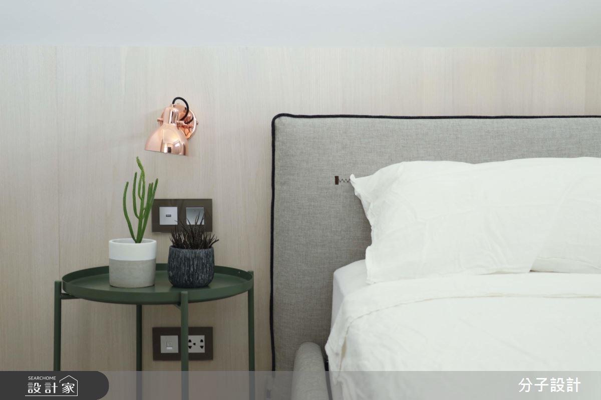 30坪新成屋(5年以下)_簡約風臥室案例圖片_分子設計_分子_31之10