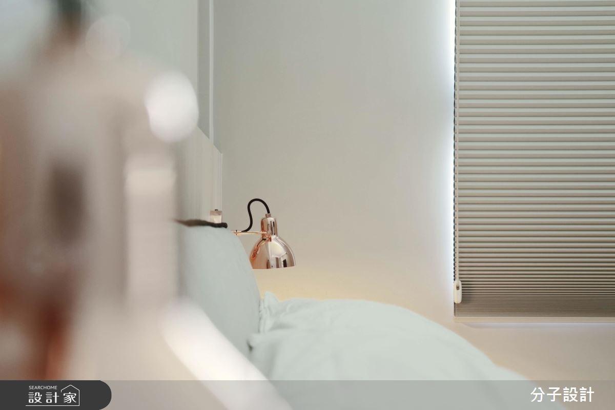 30坪新成屋(5年以下)_簡約風臥室案例圖片_分子設計_分子_31之11