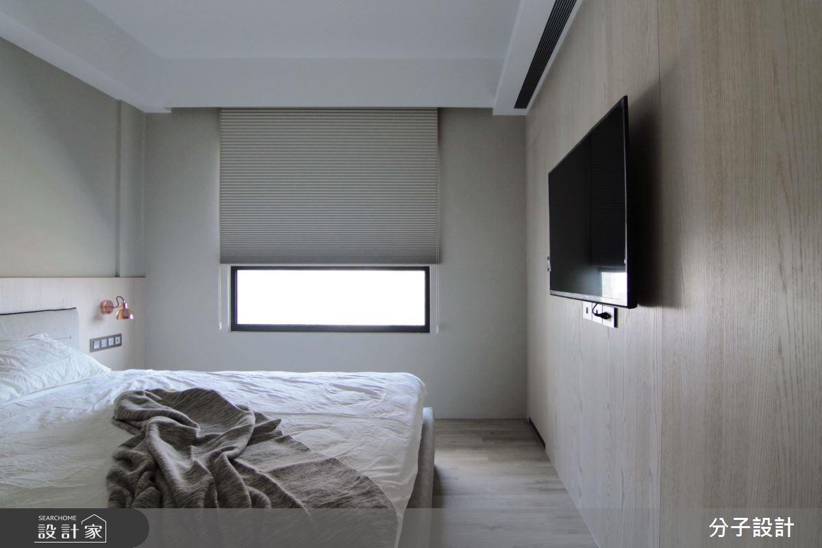 30坪新成屋(5年以下)_簡約風臥室案例圖片_分子設計_分子_31之12