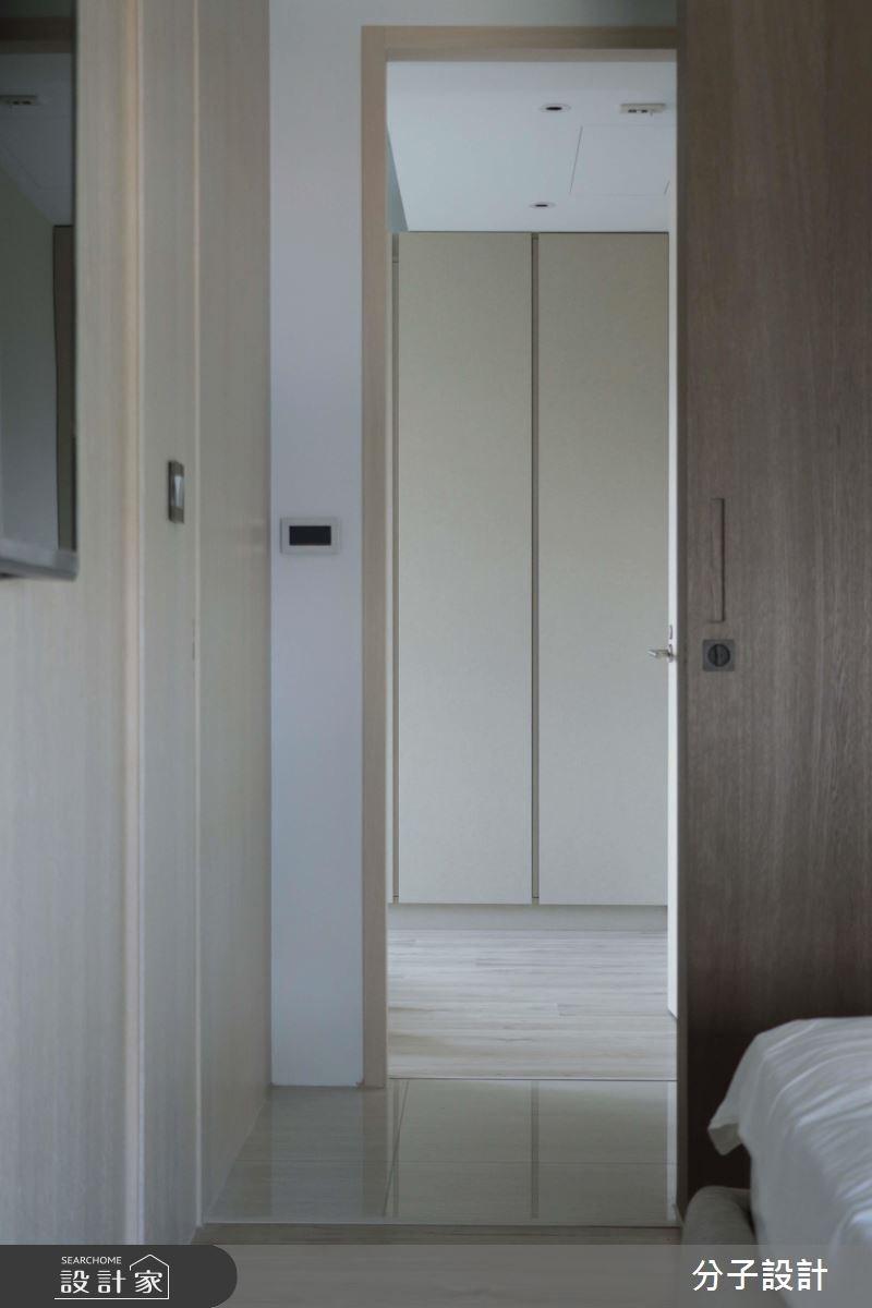 30坪新成屋(5年以下)_簡約風臥室走廊案例圖片_分子設計_分子_31之13