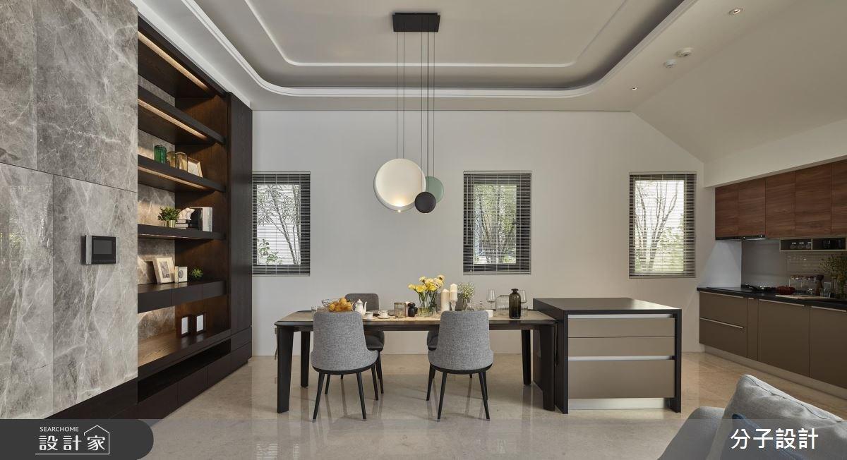 80坪老屋(16~30年)_現代風餐廳廚房案例圖片_分子設計_分子_32之3