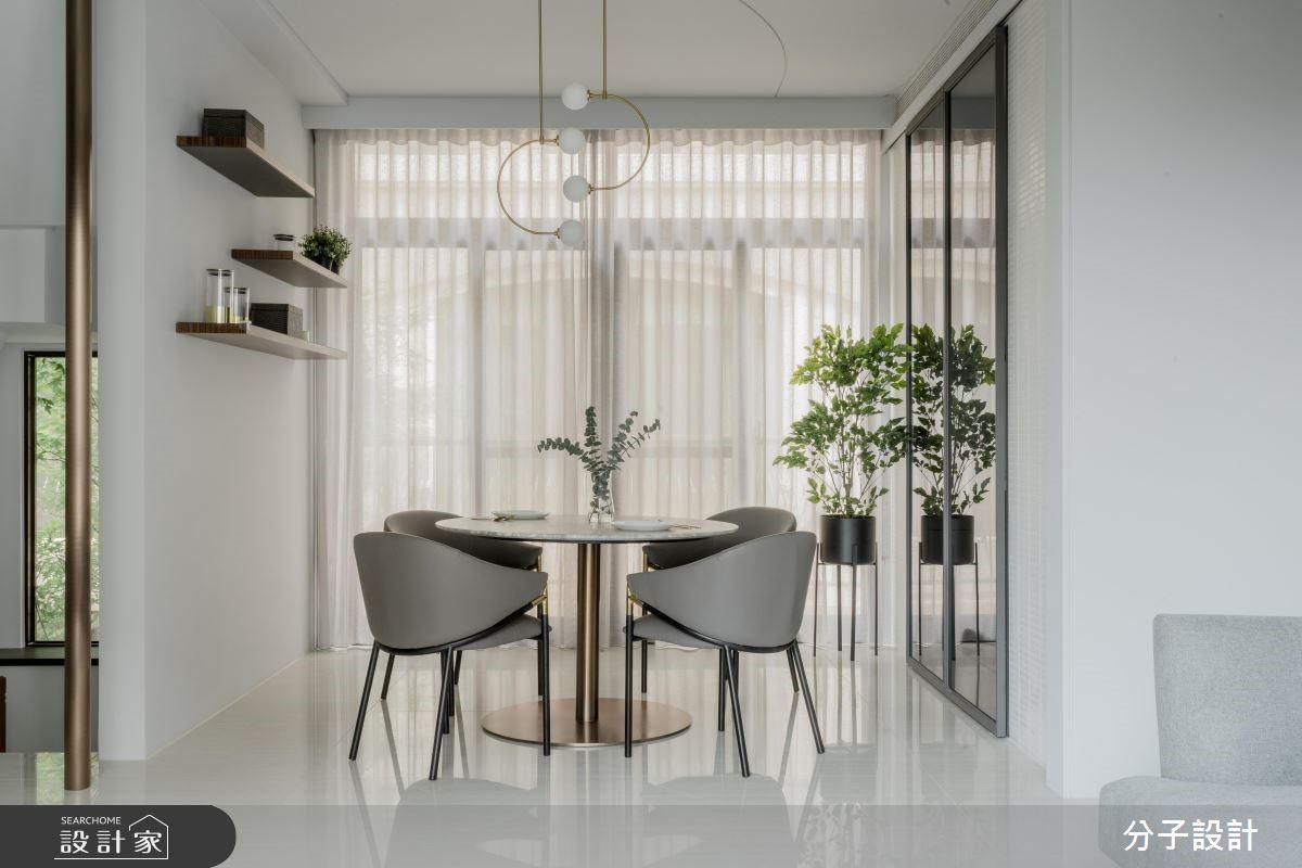 60坪新成屋(5年以下)_現代風餐廳案例圖片_分子設計_分子_40之4