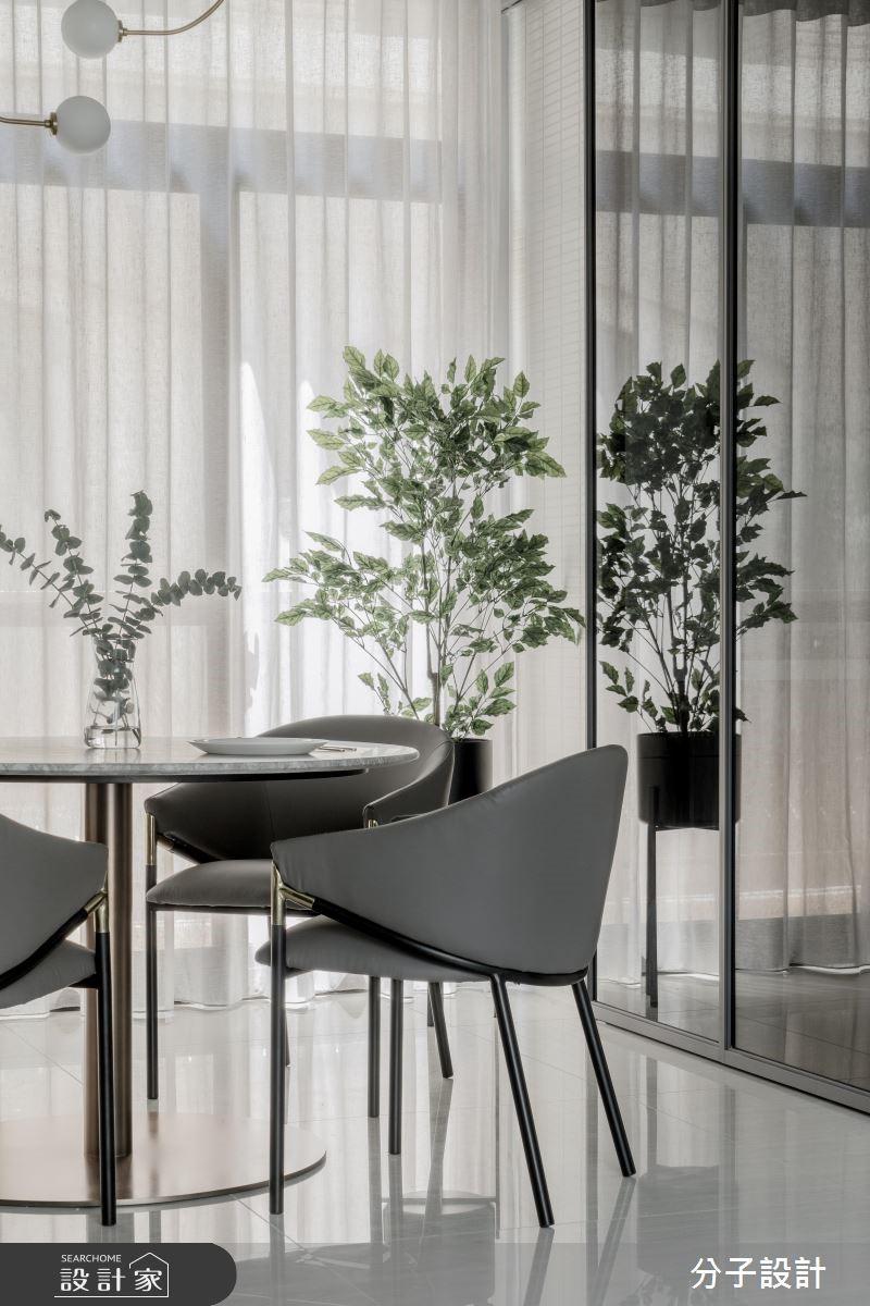 60坪新成屋(5年以下)_現代風餐廳案例圖片_分子設計_分子_40之3