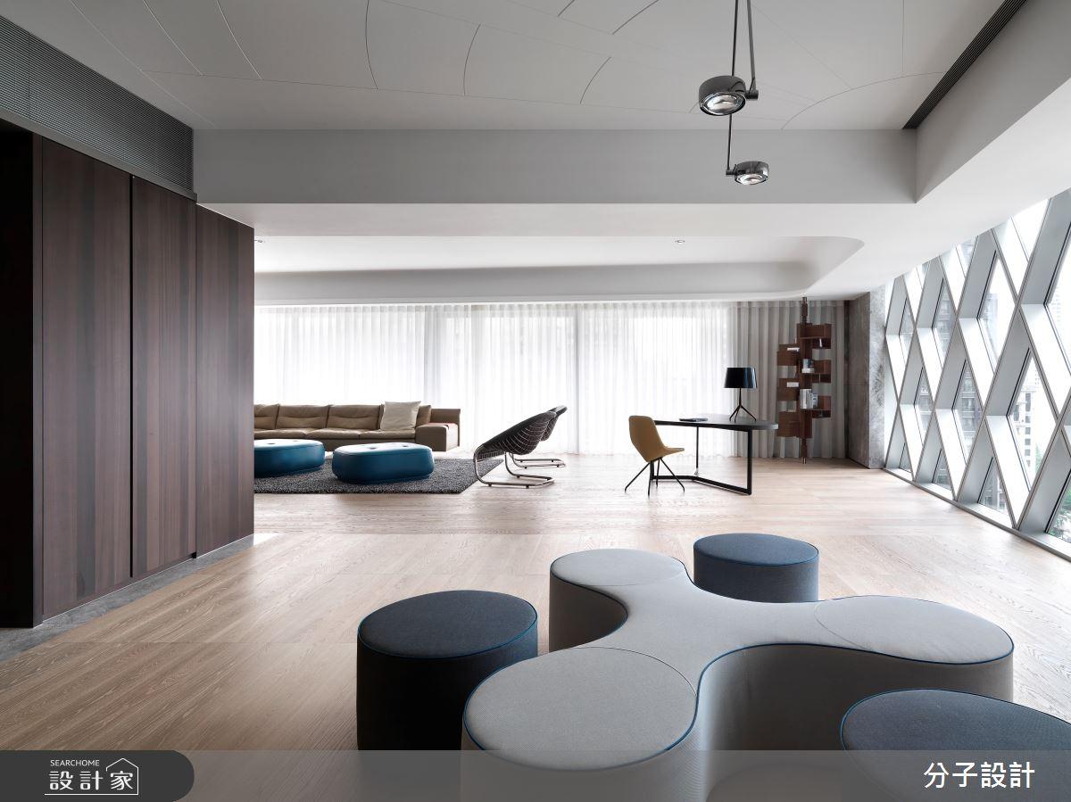 97坪新成屋(5年以下)_現代風客廳案例圖片_分子設計_分子_43之1