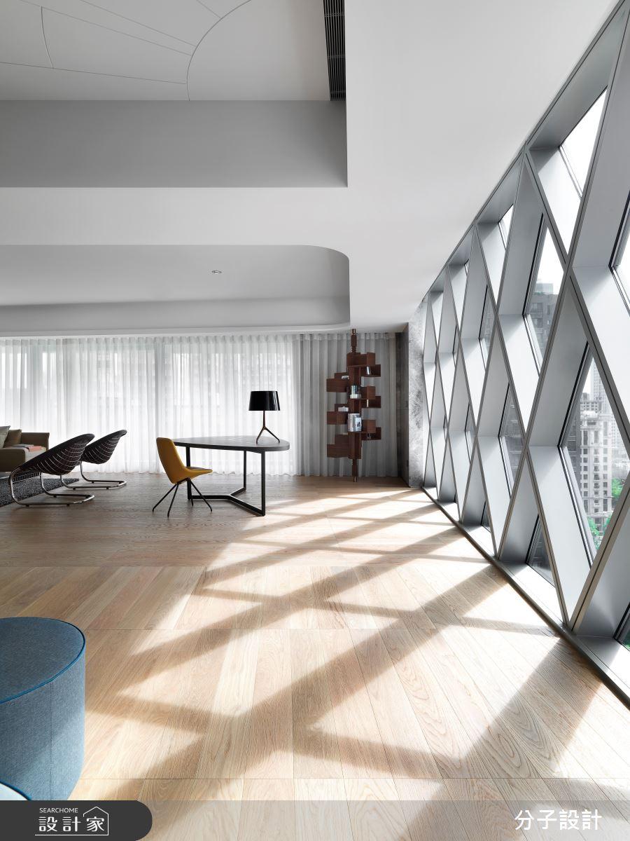 97坪新成屋(5年以下)_現代風客廳案例圖片_分子設計_分子_43之3
