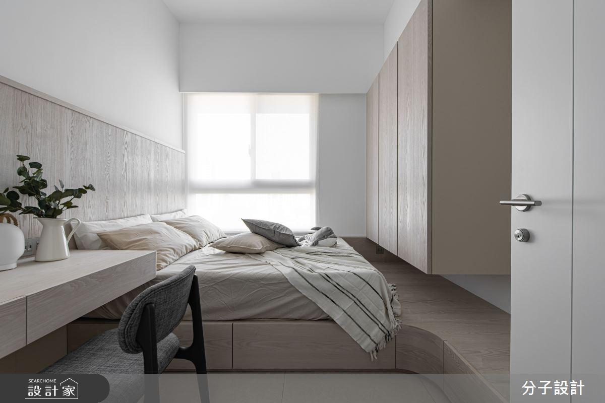 26坪新成屋(5年以下)_現代風臥室案例圖片_分子設計_分子_44之9