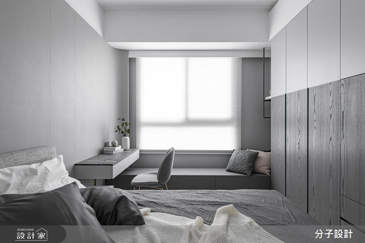 26坪新成屋(5年以下)_現代風臥室案例圖片_分子設計_分子_44之11