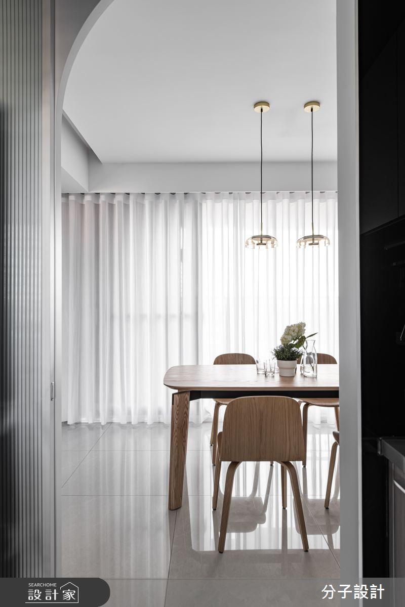 26坪新成屋(5年以下)_現代風餐廳案例圖片_分子設計_分子_44之7