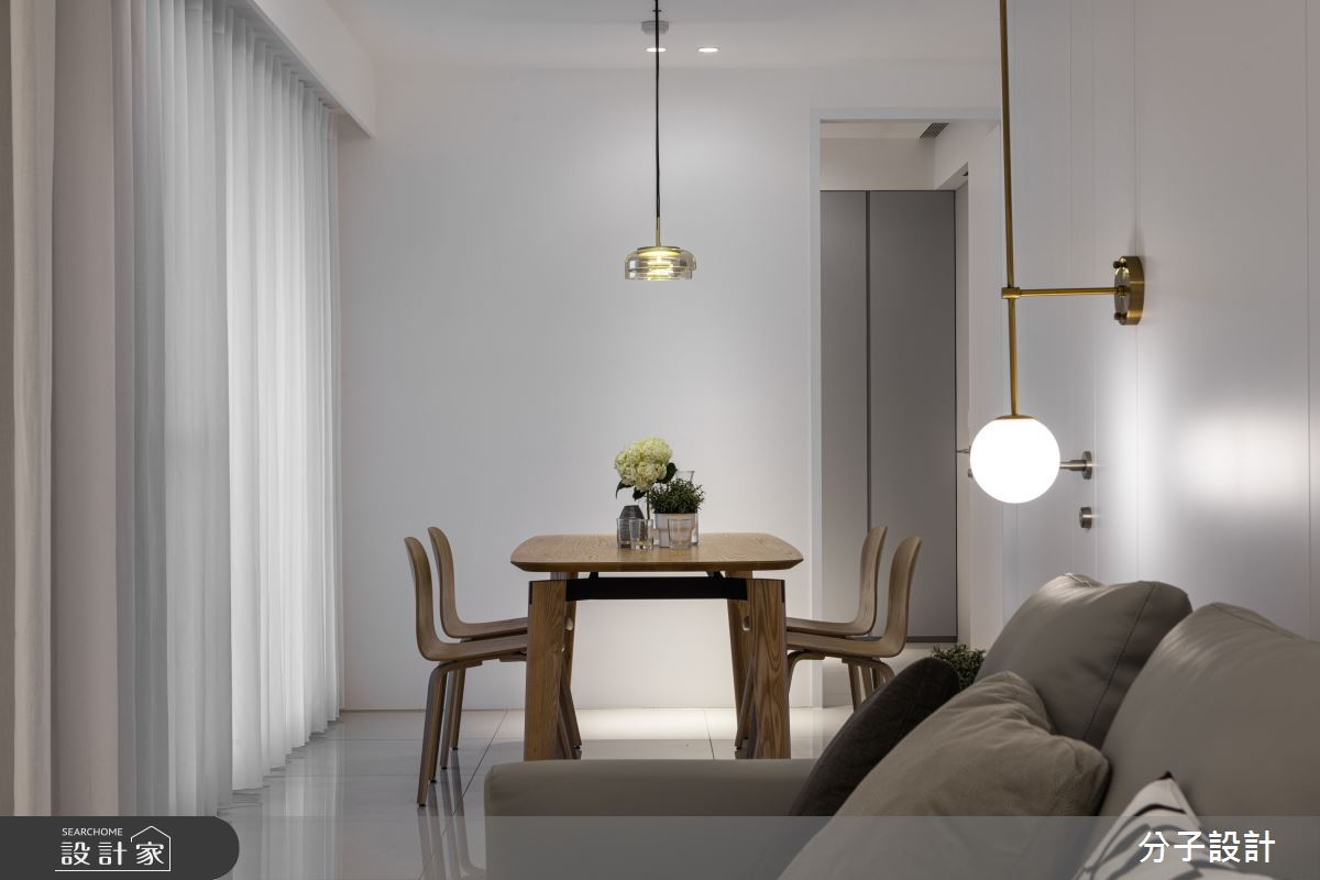 26坪新成屋(5年以下)_現代風餐廳案例圖片_分子設計_分子_44之8