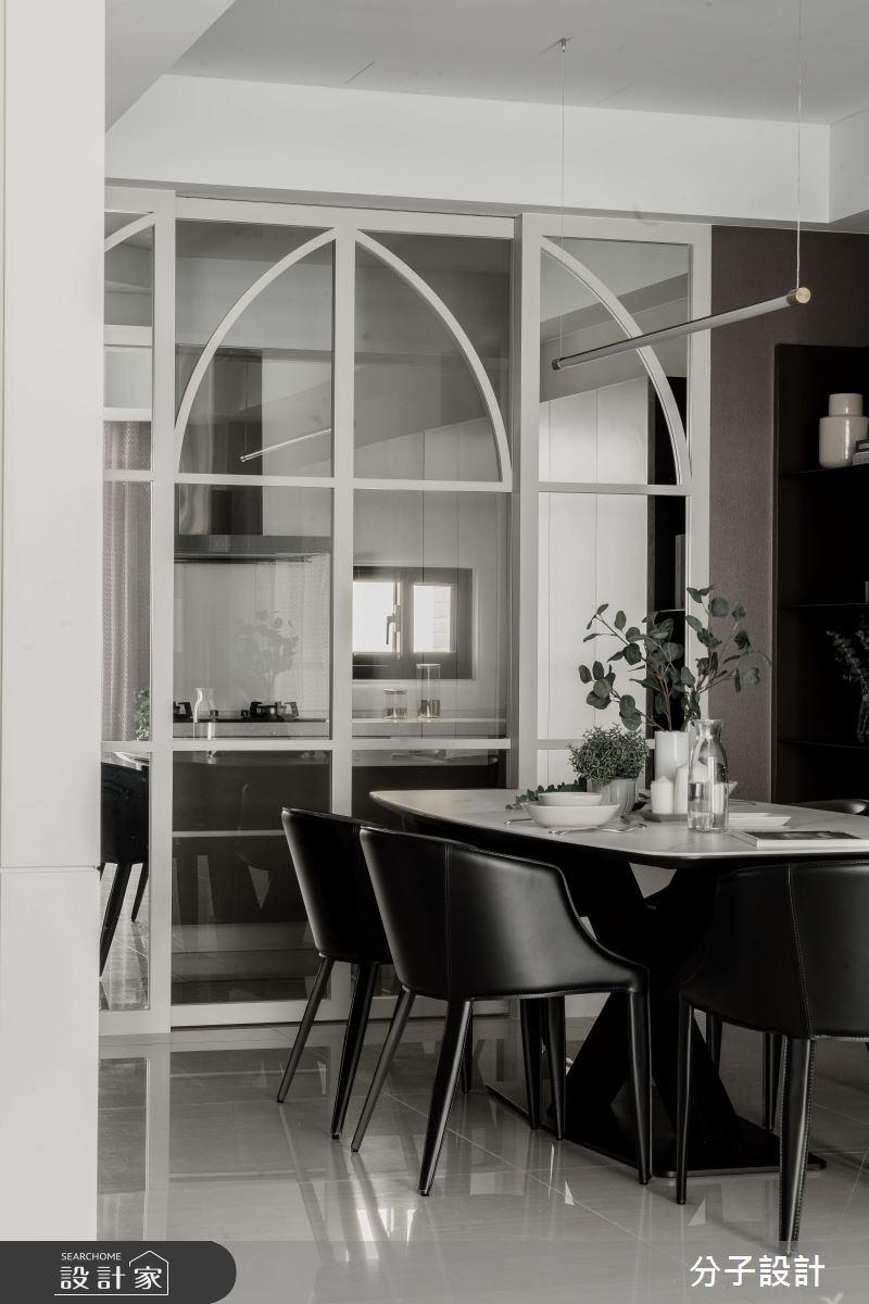 60坪新成屋(5年以下)_現代風餐廳案例圖片_分子設計_分子_47之3