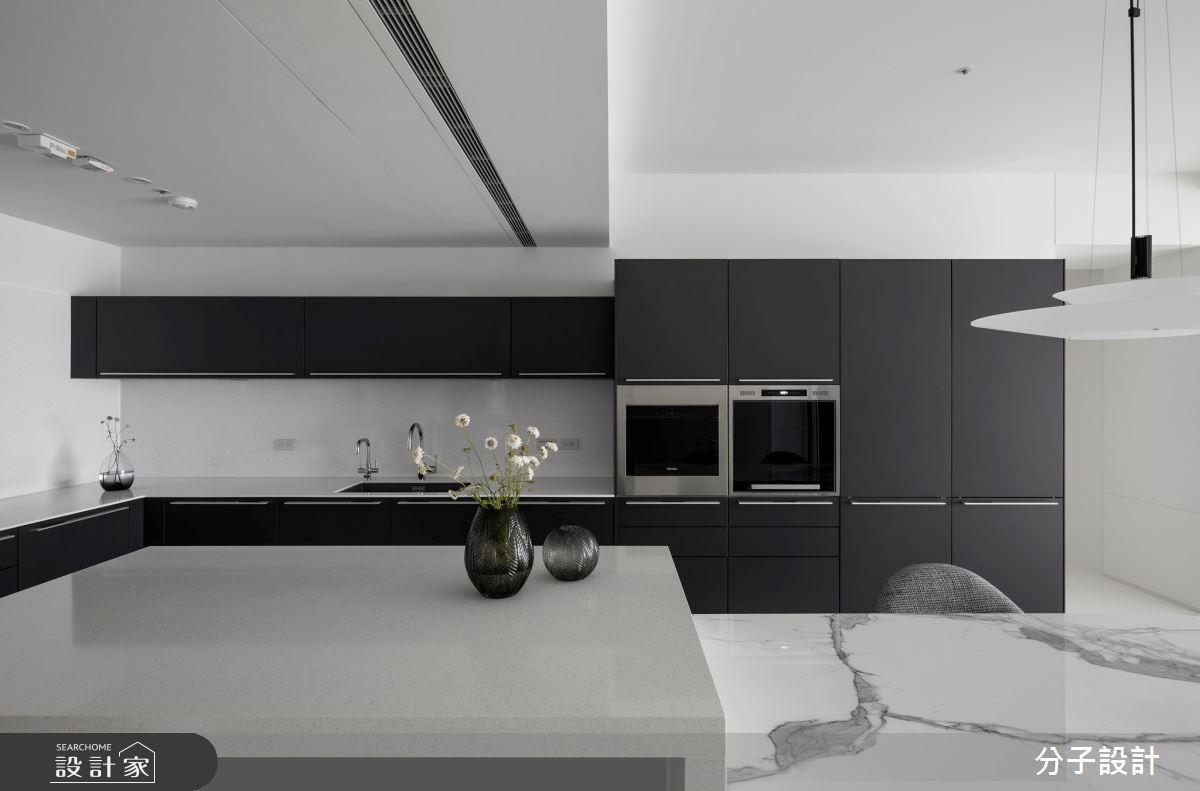 50坪新成屋(5年以下)_現代風餐廳廚房吧檯案例圖片_分子設計_分子_51之13