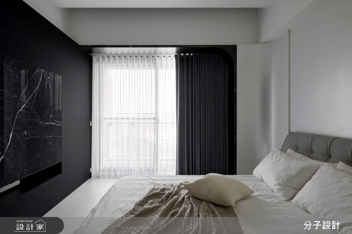 50坪新成屋(5年以下)_現代風臥室案例圖片_分子設計_分子_51之16