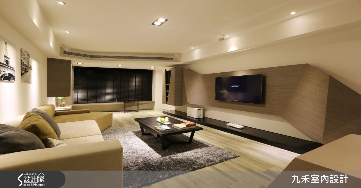 19坪中古屋(5~15年)_現代風客廳案例圖片_九禾室內設計_九禾_07之3