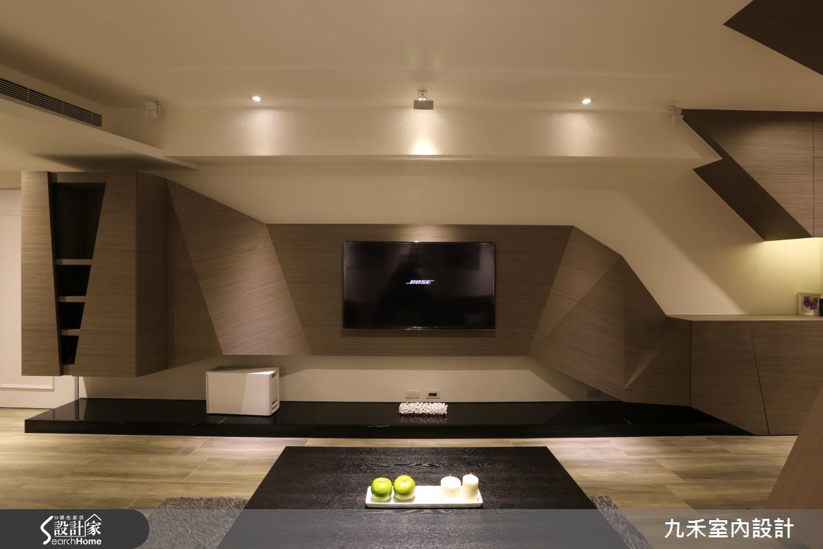 19坪中古屋(5~15年)_現代風客廳案例圖片_九禾室內設計_九禾_07之4