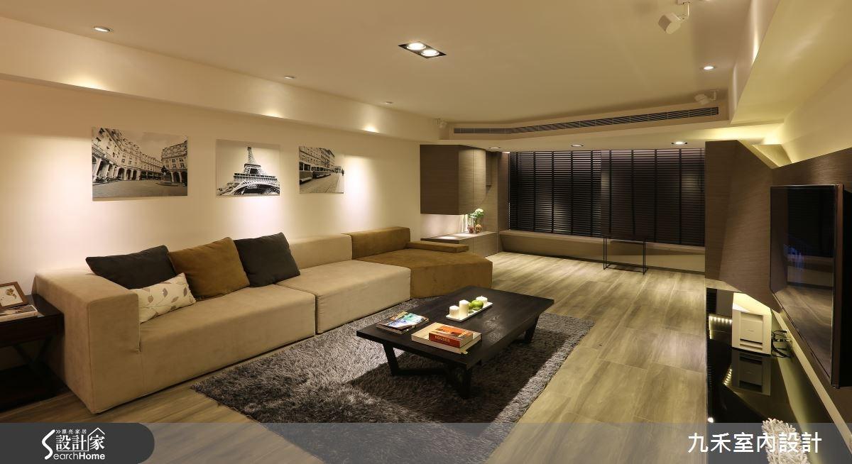 19坪中古屋(5~15年)_現代風客廳案例圖片_九禾室內設計_九禾_07之5