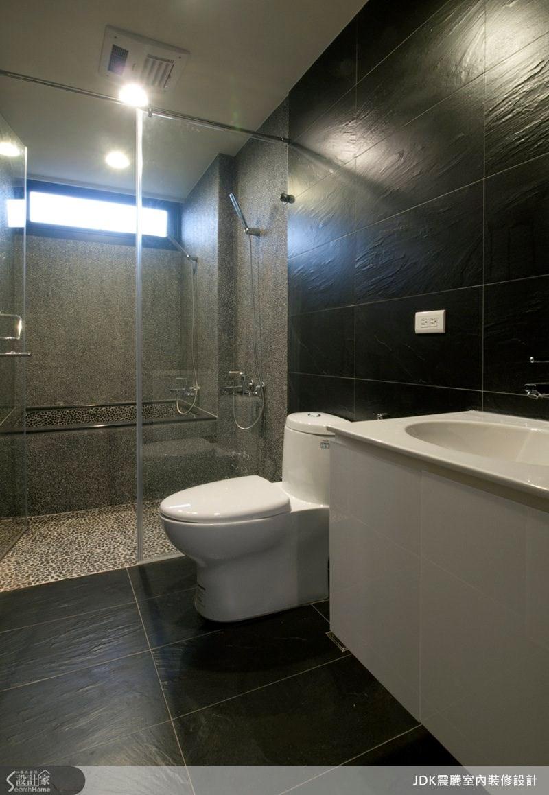 65坪中古屋(5~15年)_現代風浴室案例圖片_震騰室內裝修設計工程有限公司_震騰_05之11