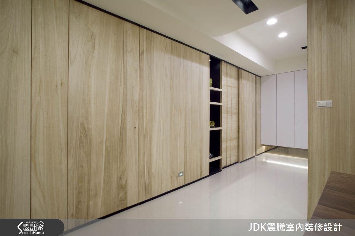 35坪新成屋(5年以下)_現代風走廊案例圖片_震騰室內裝修設計工程有限公司_震騰_07之4