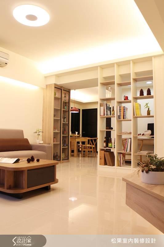 35坪新成屋(5年以下)_簡約風案例圖片_松果室內裝修有限公司_松果_05之4