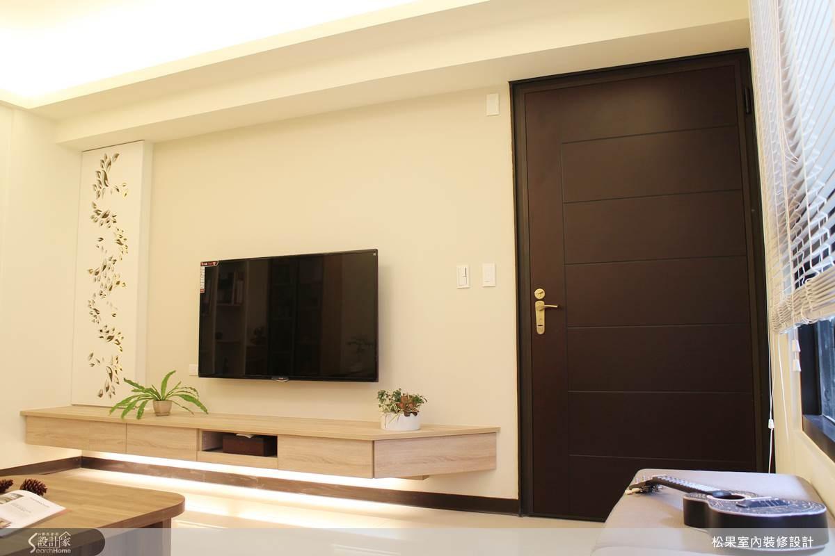 35坪新成屋(5年以下)_簡約風案例圖片_松果室內裝修有限公司_松果_05之2