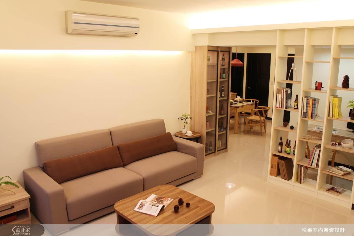 35坪新成屋(5年以下)_簡約風案例圖片_松果室內裝修有限公司_松果_05之3