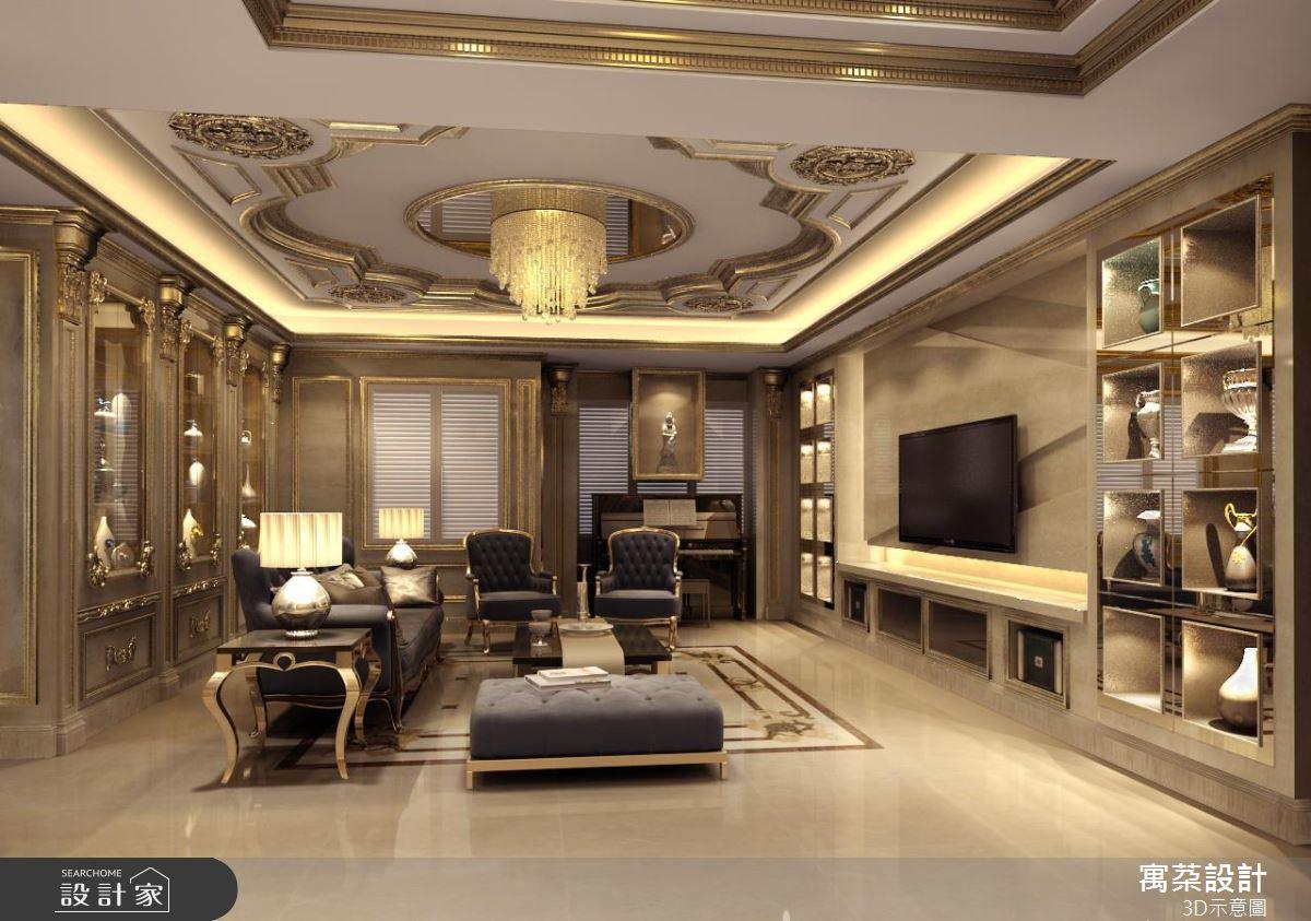 豪宅設計再出招!比奢華更奢華 把我家變成巴黎羅浮宮