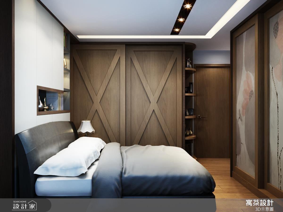 80坪新成屋(5年以下)_奢華風臥室案例圖片_寓朵設計_寓朵_27之7